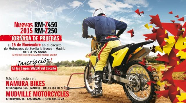 Prueba las nuevas Suzuki MX