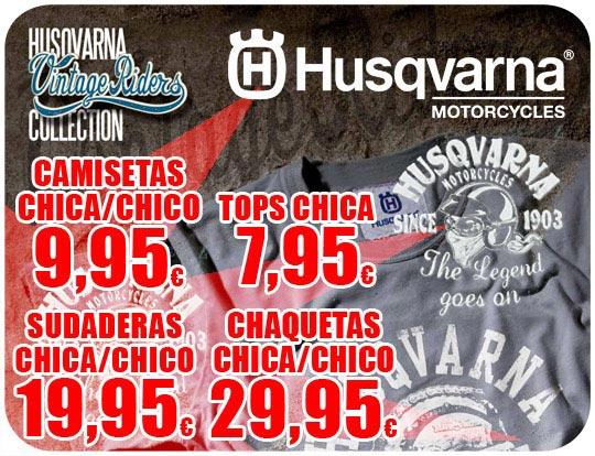 Toda la colección Husqvarna Vintage en MotocrossCenter