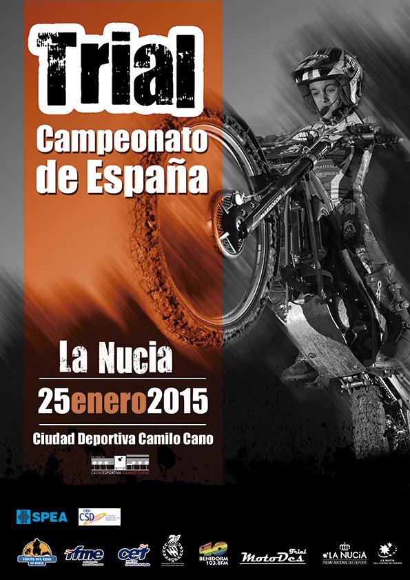 El SPEA RFME Campeonato de España de Trial 2015 empieza en La Nucía