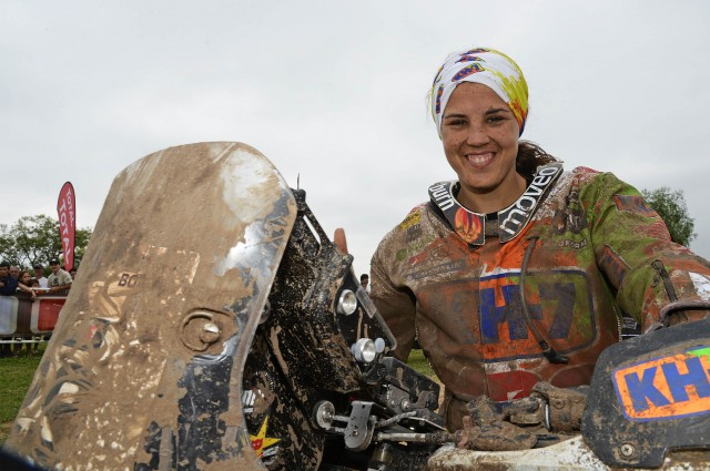 Laia Sanz concluye el Dakar en una histórica novena posición