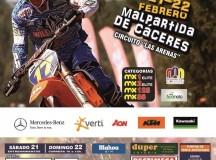 Campeonato de España de Motocross en Malpartida de Cáceres.