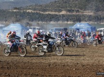 Gran inauguración del nacional de Motocross Clásicas