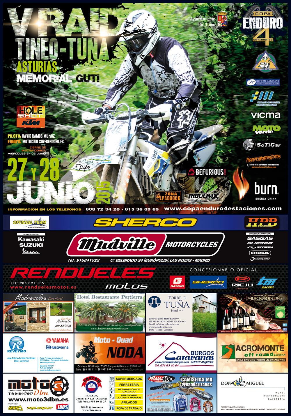 V Raid Tineo-Tuña 27 y 28 de junio (Asturias)