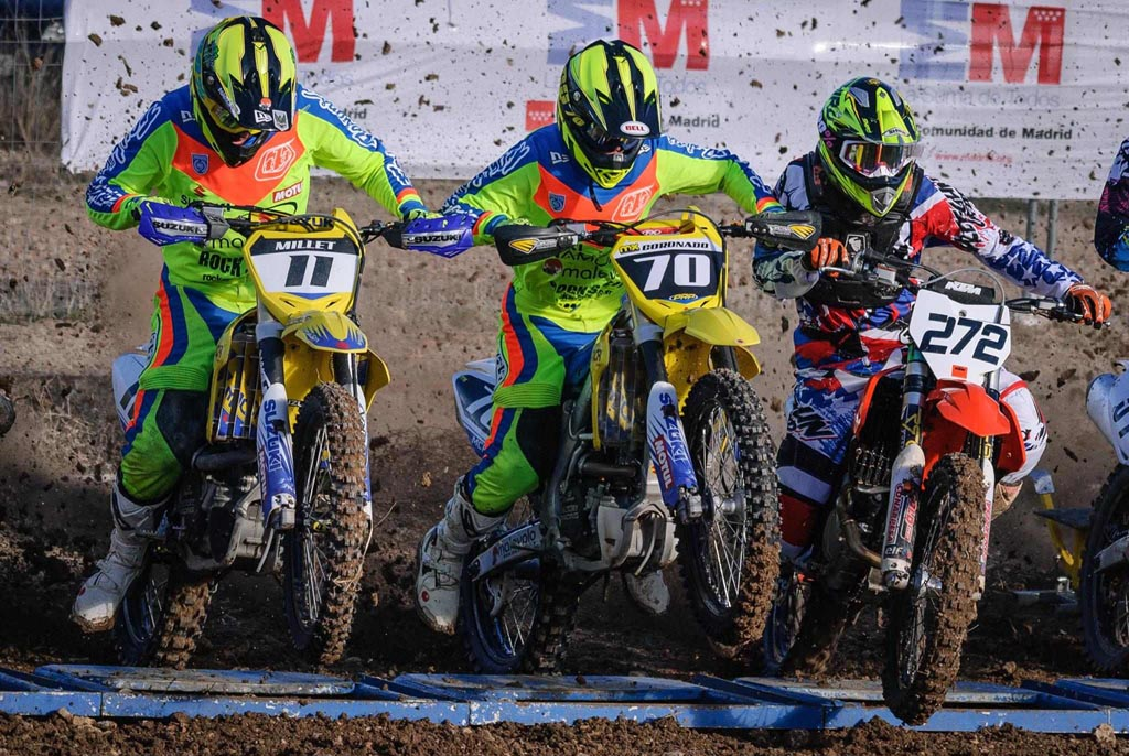 TEAM SUZUKI NAMURA CAMPEONES MX MADRID